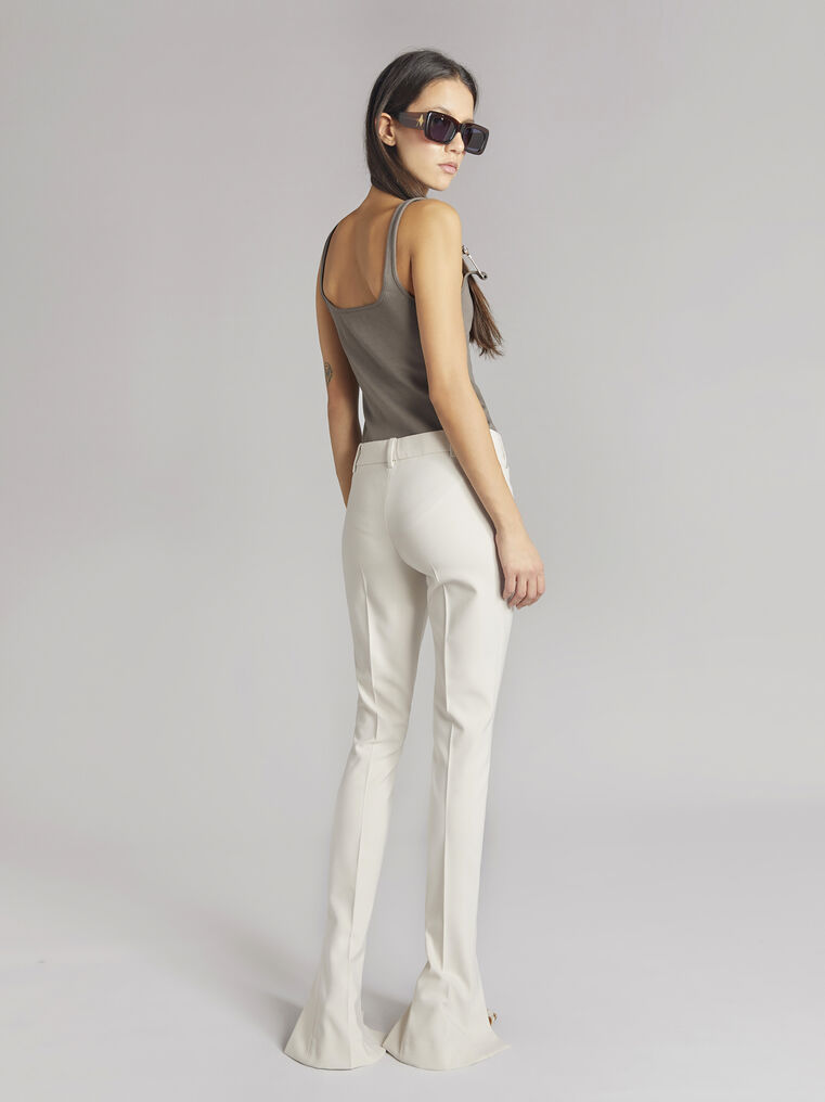 """THE ATTICO """"Beca"""" taupe tank top 3"""