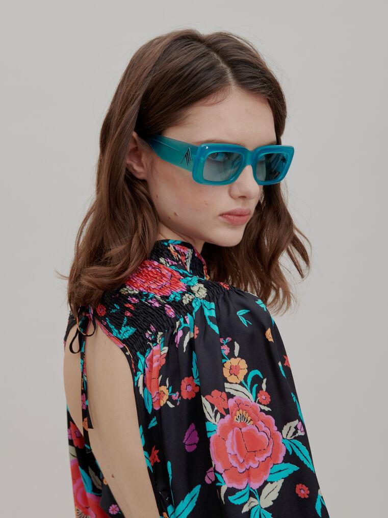 "The Attico ""Marfa"" mint sunglasses 1"