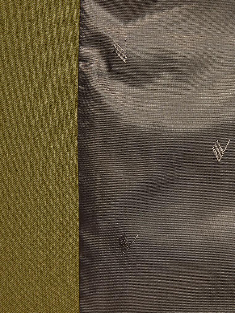 "THE ATTICO ""Bianca"" military green jacket 4"
