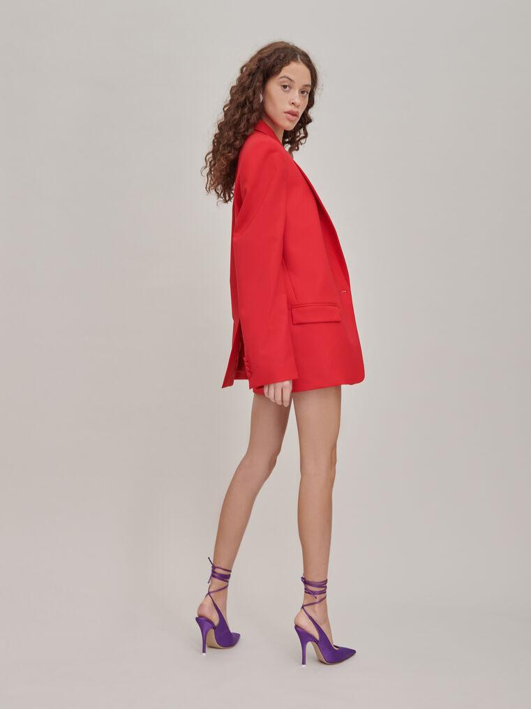 "The Attico ""Bianca"" red blazer jacket 2"
