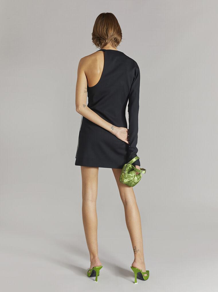 """THE ATTICO """"Linda"""" black mini dress 3"""