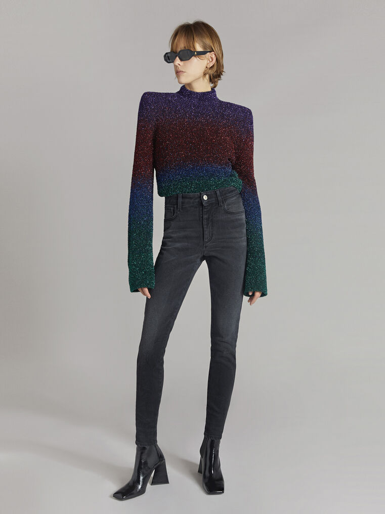 """THE ATTICO """"Kenna"""" multicolour sweater 1"""