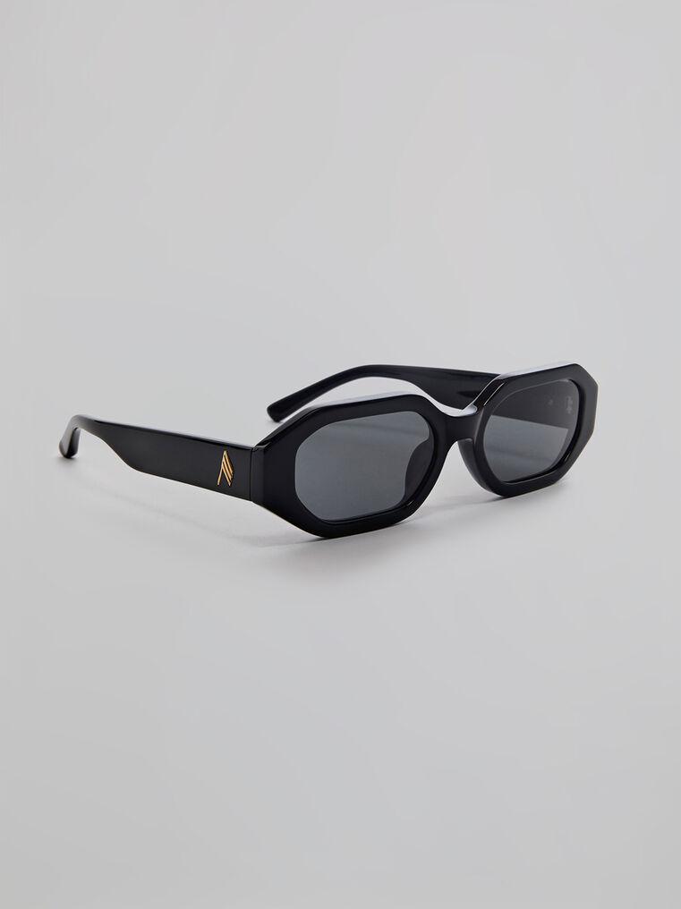 """THE ATTICO """"Irene"""" black sunglasses 1"""