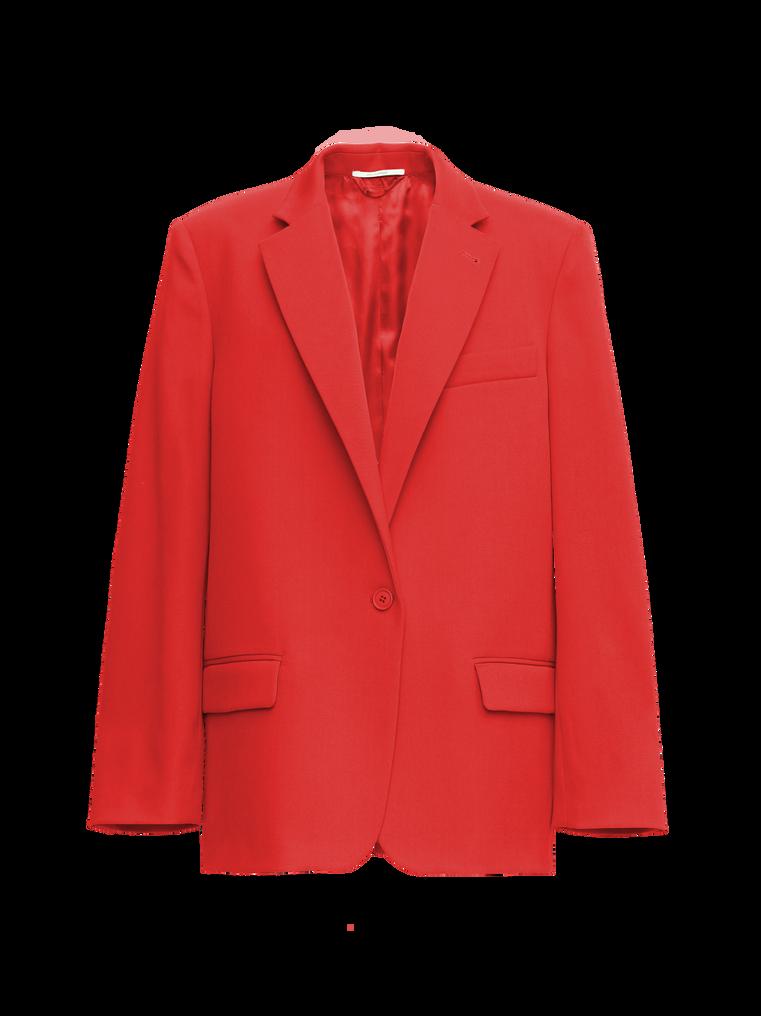 "The Attico ""Bianca"" red blazer jacket 4"