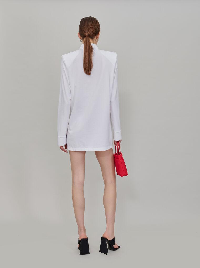 """The Attico """"Astrid"""" polo mini dress 3"""