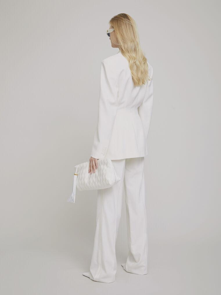 """The Attico """"Donna"""" white jacket 3"""