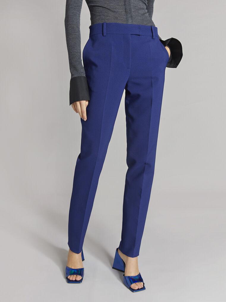 THE ATTICO ''Twiggy'' blue navy skinny pant 2