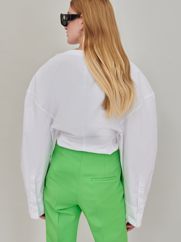 The Attico White shirt 2