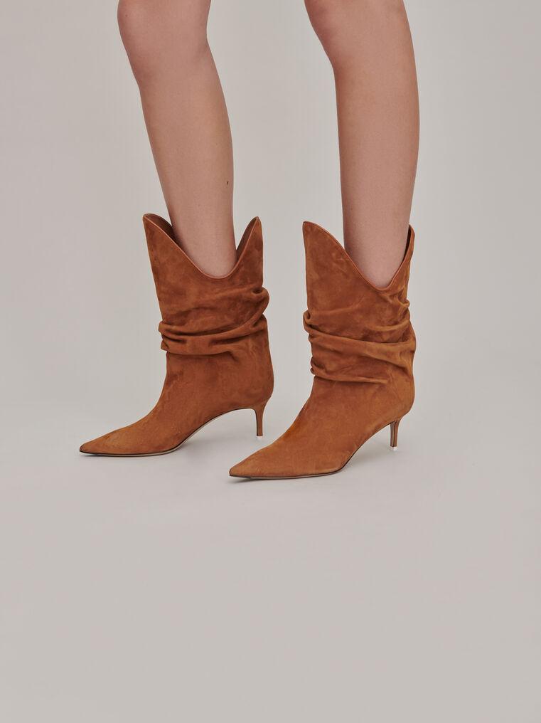 "The Attico ""Tate"" camel boots 2"