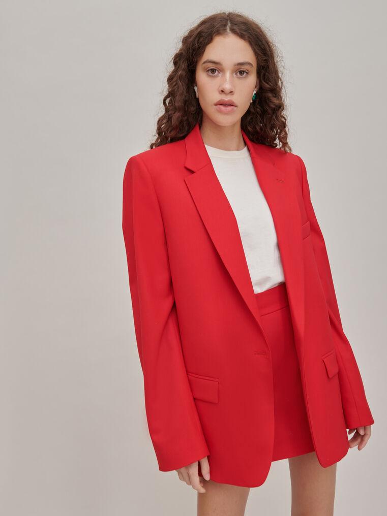 The Attico Red mini skirt 2