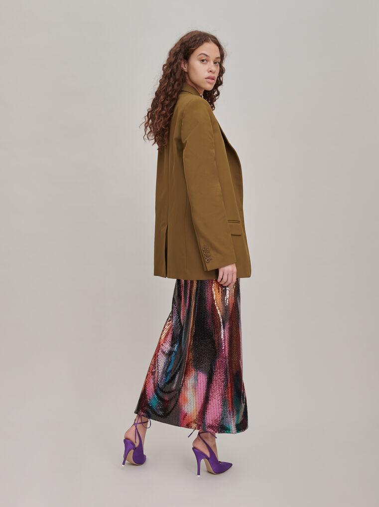 "The Attico ""Joanna"" multicolor long skirt 3"