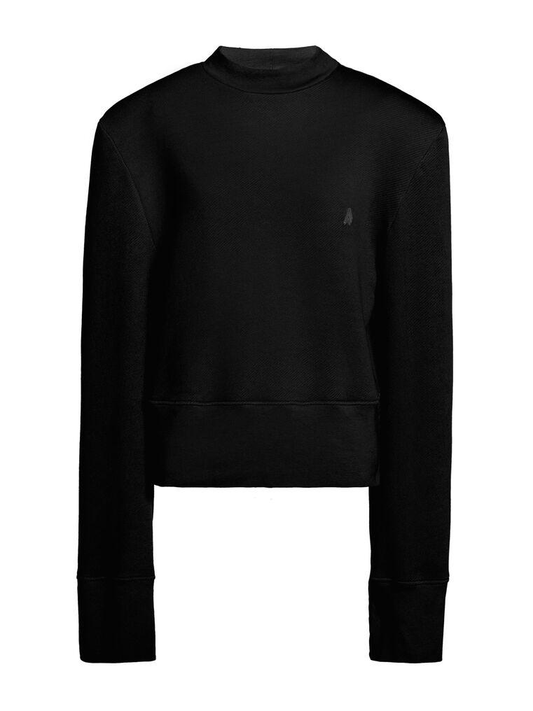 "THE ATTICO ""Kenna"" black sweatshirt 4"