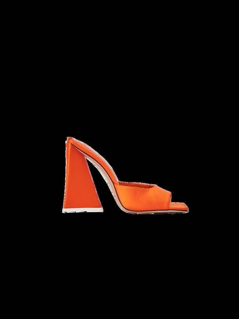 """The Attico """"Devon"""" orange mule 4"""
