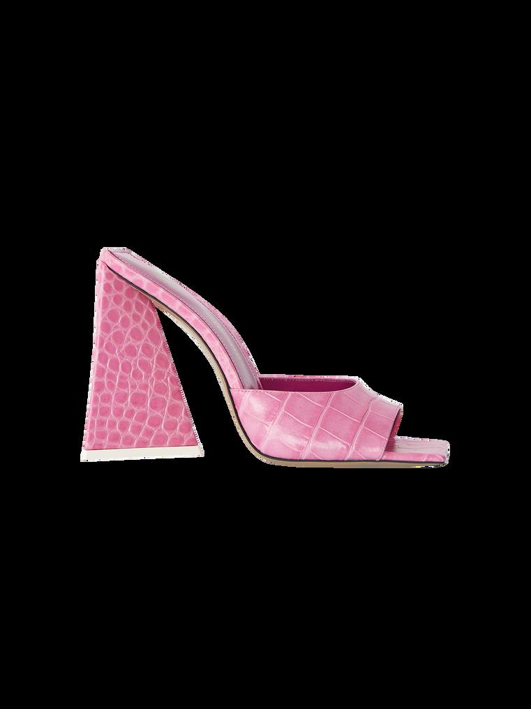 """THE ATTICO """"Devon"""" pink mule 4"""