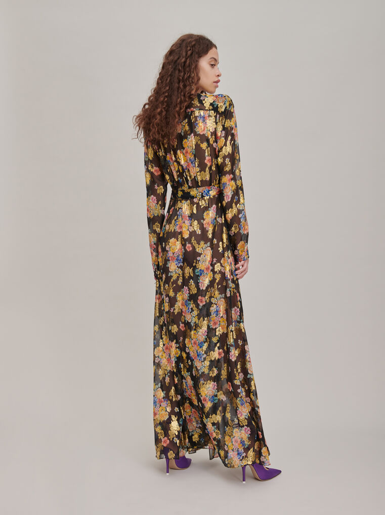 "The Attico ""Lauren"" floral prinded long dress 2"